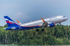 Aeroflot VP-BTO (TO) (U. Heinze) Tags: aircraft airlines airways airplane planespotting plane haj hannoverlangenhagenairporthaj flugzeug eddv nikon