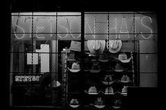 Stetson Hats (dangr.dave) Tags: architecture bexarcounty downtown historic neon neonsign sanantonio texas tx stetsonhats windowdisplay