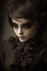 the stairs (dolls of milena) Tags: bjd abjd resin doll narae bimong n60s portrait
