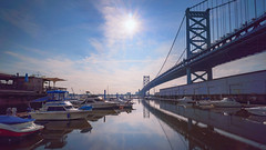 Bridge and Boats 2 (Royston_Kane) Tags: a6300 1018mm sel1018 sel1018mm sony1018mm sonya6300 travel philadelphia philly