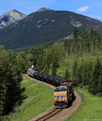 UP 5545 ~ Fabro (Chris City) Tags: train railway railroad mixed freight cpr uprr sparwood crowsnest cranbrook
