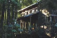 Big cabin. (Pablin79) Tags: forest wood colors light morning sunny early calm silence nature outdoors rocks house cabin cuñapirulodge misiones argentina aristobulodelvalle plants trees windows shadows