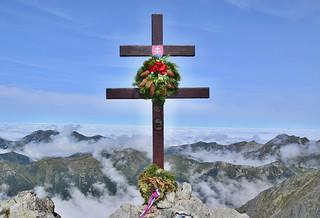 National symbol of Slovakia, KRIVÁŇ-2494 meter above sea level