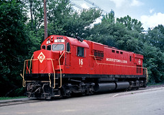 M&E 16 (Erie Limited) Tags: me morristownerie alco c430 morristownnj train railfan railroad me16