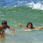 Boys at beach thumbnail