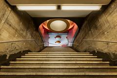 Fehrbelliner Platz (_LABEL_3) Tags: architecture architektur innenraum metro rainergrümmler stairs treppen ubahn verkehr subway berlin deutschland de