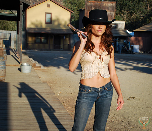 a03126c770b Pretty Brown-Eyed Cowgirl! Beautiful Brunette Cowgirl Model Goddess wearing Cowboy  Hat Low Cut Blue Jeans ...