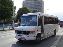 Target Travel FY02LDE (Devon and cornwall Bus Spotter) Tags: target travel plymouth fy02lde ltd mini bus 39 devon