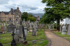 P1190327.jpg (andybewer) Tags: scotland graveyard landscape mountain