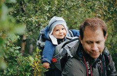 a toddler in iceland, part one (manyfires) Tags: film analog nikonf100 35mm iceland europe travel vacation hike hiking boy child toddler son family love father dad michael osprey henry