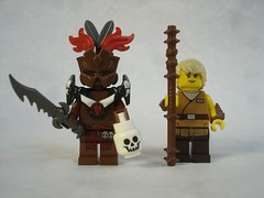 D3 - Heroes 2 (fdsm0376) Tags: lego figurines medieval fantasy diablo 3 blizzard