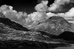 Mountains (1 of 1) (selvagedavid38) Tags: mountain sky clouds lake district pike hills fell landscape black white cumbria england diamondclassphotographer flickrdiamond