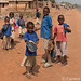 Children at Bante, Benin, near the border with Togo.