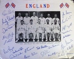 England Cricket Team 1962/3 (martyboy2 of Britain) Tags: england cricket team 19623 international side lords