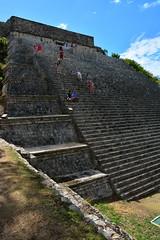 Great Pyramid (DSLEWIS) Tags: pyramids yucatan mexico maya mayans ancient archaeology ruins