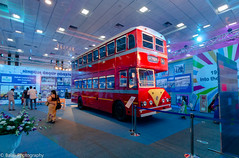 Double Decker Bus - Ashok Leyland (Balaji Photography - 5 ,400,000+ views -) Tags: bus titan ashokleyland al70 wheels leyland doubledecker travel commute doubledeckerbus leylandbus chennai automobile m motorvehicle red