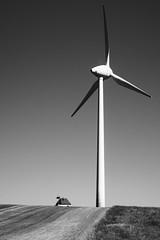 Independence (Alexander Dülks) Tags: 2018 wind solarpanel photovoltaics himmel fotovoltaik photovoltaik dach haus feld solarcell meadow solarpanele windmühle windpowerplant windrad windpark solar grass gras house roof sky windmill wiese windkraftwerk solarzelle field steinbachamwald germany windturbine