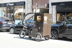UPS (So Cal Metro) Tags: edrive ebike electric bicycle ups cargo courier freight unitedparcelservice delivery packagecar parcelvan van stepvan brown