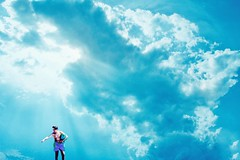 Surreal Day (marcus.greco) Tags: surreal day portrait man sky colors conceptual