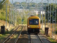 On the home straight (The Walsall Spotter) Tags: westmidlandsrailway class170turbostar 170504 midcannock cannockrailwaystation thechaseline thechaselineelectrification