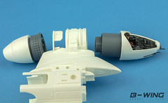 B-Wing wip (Andy R Moore) Tags: starwars scalemodel bandai