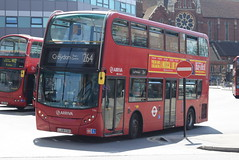 AL T44 @ West Croydon bus station (ianjpoole) Tags: arriva london alexander dennis enviro 400 lj08csx t44 working route 264 st georges hospital tooting broadway park street croydon