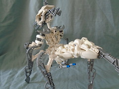 Dark Hunter Primal (Vahki6) Tags: lego bionicle moc instructions dark hunter primal