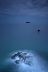 ... Deep Dream ... (Device66.) Tags: islaminimal rougsea xicon benidorm castell temporaldelosguenos stormysea mediterranean sea bigstopper filters filtrosalpicaduras