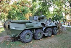 BTR-80AM páncélozott szállító harcjármű (Péter_kekora.blogspot.com) Tags: budapest hungary 2018 august hdfhungariandefenceforces military magyarhonvédség orczypark
