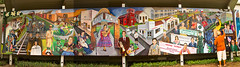Artist at Work (Ellsasha) Tags: houston art mural murals streetart mexicanamerican artists jessesifuentes lauralopezcano