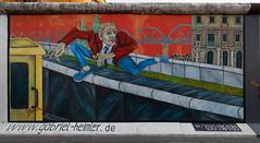 Berlin Wall - East Side Gallery (Pascal Volk) Tags: berlin friedrichshain fhain mühlenstrase berlinfriedrichshainkreuzberg dermauerspringer gabrielheimler eastsidegallery openairgallery denkmal memorialforfreedom berlinwall berlinermauer murodeberlin graffiti streetart urbanart wideangle weitwinkel granangular superwideangle superweitwinkel ultrawideangle ultraweitwinkel ww wa sww swa uww uwa herbst fall autumn otoño canoneos6d irix11mmf40 blackstone 11mm 11mmlens irixlens extremewideangle manfrotto mt055xpro3 468mgrc2 dxophotolab