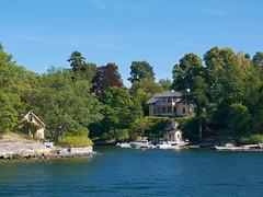 Jours d'été à Stockholm : villégiatures d'été dans l'Archipel (Géraud de St G) Tags: stockholm archipel archipelago tynningö