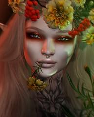 Free Spirit (Alisa Perne) Tags: alisa26 alisaperne secondlife sl avatar lelutka bento meshhead glamaffair skinapplier zibska makeup lode flowers whitewidow white~widow tattoo stealthic spoonfulofsugar
