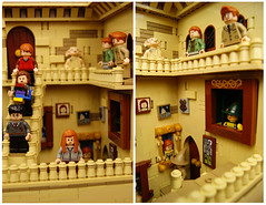 Lego Hogwarts Staircase 3 (SEBASTIAN-Z) Tags: lego harry potter hogwarts minifigs moc