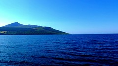 Scotland West Highlands the paddle steamer Waverley heading for Brodick Island of Arran on the evening of 1 July 2018 video by Anne MacKay (Anne MacKay images of interest & wonder) Tags: scotland west highlands sea dock clyde paddle steamer waverley brodick evening 1 july 2018 video by anne mackay island arran