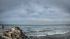 The Baltic Sea (Northcraft Photographs) Tags: meer sea ocean baltic ostsee wetter strand steine stones beach water wolken clouds lübeck luebeck nord germany deutschland love northcraft brandung wellen sony alpha a57 sigma