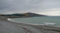 Aberystwyth - south beach on a grey day (Dubris) Tags: wales cymru ceredigion aberystwyth seaside coast beach shingle
