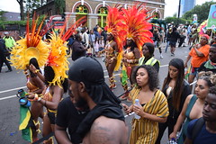DSC_8312 (photographer695) Tags: notting hill caribbean carnival london exotic colourful costume girls dancing showgirl performers aug 27 2018 stunning ladies