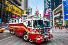 FDNY Rescue 1 (mikegreen78) Tags: usa america apple big bigapple city new newyork states united unitedstatesofamerica urban yankees york