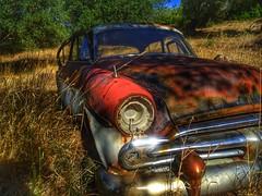 an old Vauxhall..i think!!!☺ (panoskaralis) Tags: car oldcar abandoned rusty old nature lesvos lesvosisland mytilene greece greek hellas hellenic outdoor vauxhall