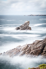 DSCF2512 (Romain Vincent) Tags: longexposure waves sea ocean landscape vertical view seascape quiberon cotesauvage summer afternoon fuji nisifilters