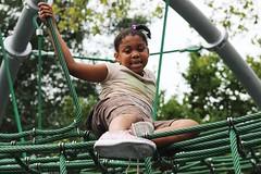 IMG_1946 (Philadelphia Parks & Recreation) Tags: carroll park dedication ribbon cutting playground play kids summer summertime laugh spray sprayground sprinkler jungle gym running laughing run playing new upgrades