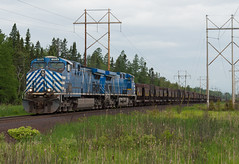 Ore Loads (Joseph Bishop) Tags: cefx ac4400cw marquette michigan uppermichigan lsi trains train track tracks railfan railroad railway rail rails ore