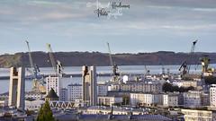 Brest au petit jour (pascalkerdraon) Tags: france bretagne brittany finistere penn pen ar bed brest pont recouvrance