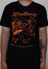#3088A Mudhoney - Every Good Boy Deserves Fudge (Minor Thread) Tags: minorthread tshirtwars tshirt shirt vintage rock concert tour merch black mudhoney everygoodboydeservesfudge egbdf subpop grunge 1991