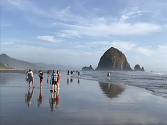 """FD9141AA-A175-4943-9B02-C3C31180235A (komissarov_a) Tags: cannonbeach haystackrock oregoncoast 101 formations tidepools sunsets spectacular ocean viewpoints rocks attraction tides running hiking skyhigh scenic pacific west surprise beautiful sandy shoreline perfect wonderland remarkable refreshing unbeatable stunning scenery unforgettable vistas naturalareas komissarova streetphotography rgb iphone7 color rainforest downtown paradise dramatic enjoyable landscapes famous nationalgeographic magazine picturesque sidewalks artgalleries specialtyshops restaurants """"oneoftheworld's100mostbeautifulplaces"""