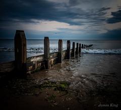 Morning (James 1949) Tags: shoreline sand groynes beachseascape dawn northsea neengland beach redcar england unitedkingdom gb