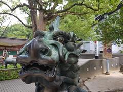 Dazaifu (Lakuda-san) Tags: japon statue bronze dazaifu kirin japan