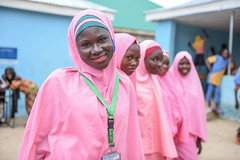 Education brings smiles and hope to children and young people in northeast Nigeria (EU Civil Protection and Humanitarian Aid Operation) Tags: nigeria africa dgecho europeanunion education school humanitarianaid eie girls women students pupils learning