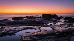 Point Arkwright (Visual Clarity Photography) Tags: 2018 spring nikon pacificocean australia landscape longexposure september nikkor1635mmf4ed seq au landscapephotography nikond500 ocean sunshinecoast coolum d500 sunrise southeastqueensland qld seascape reversegrad rocks pointarkwright queensland